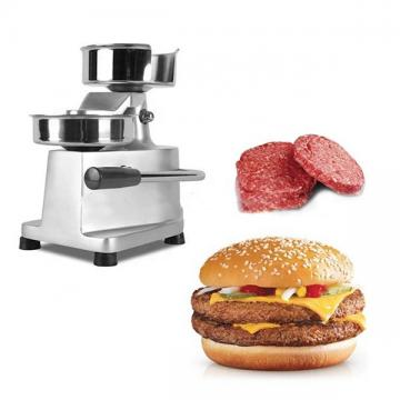 Commercial Auto Big Stuffed Burger Patty Press Maker