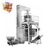 Automatic Vffs Vertical Form Film and Seal Granule Grain Snack Multihead Weigher Weighing Packing Machine,Biscuit Cookie Potato Chip Chocolate Packaging Machine